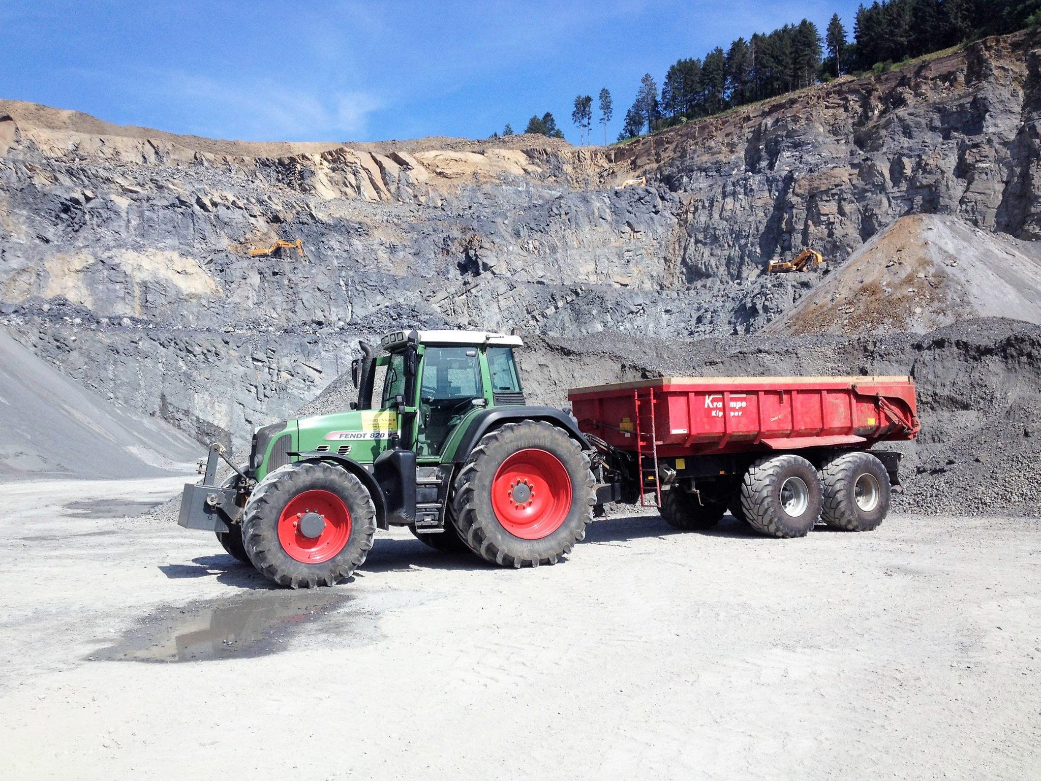Erdarbeiten agrar service koch for Koch transporte